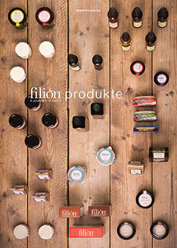 Filion product catalogue design